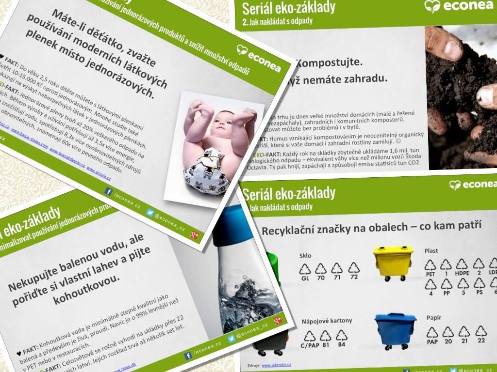 Econea - tipy a triky jak na zelenější domácnost a šetrný životní styl
