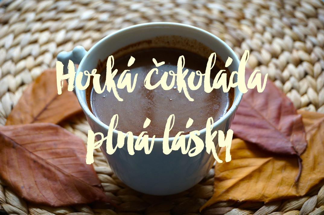 Horká čokoláda z kakaa